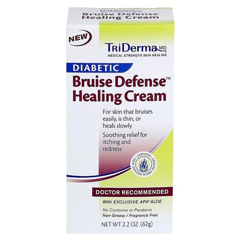 TriDerma Diabetic Bruise Healing Cream