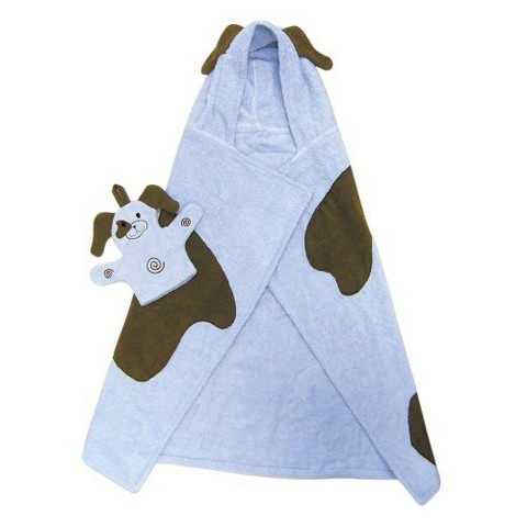 Trend Lab Puppy Hooded Towel - Blue