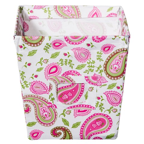 Trend Lab Decorative Bin - Paisley Medium