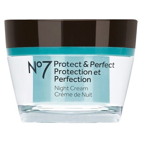 Boots No7 Protect and Perfect Night Cream - 1.69 oz.