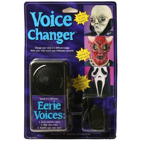 Voice Changer Costume Accessory