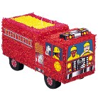 Firefighter Truck Birthday Party Pinata