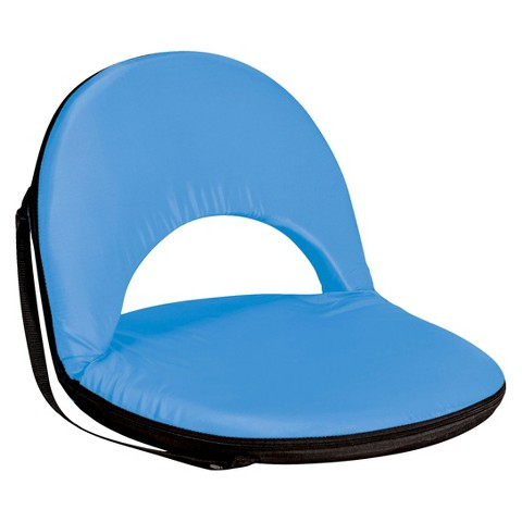 Picnic Time Metro Portable Reclining Seat - Sky Blue