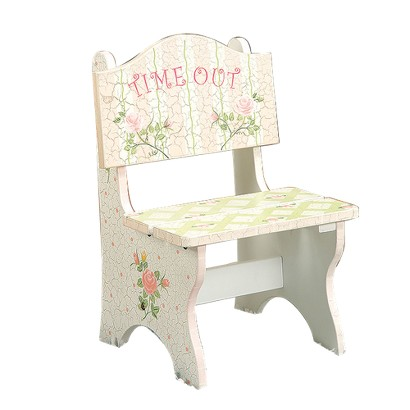 Time Out Chair - Pink Crackle Finish