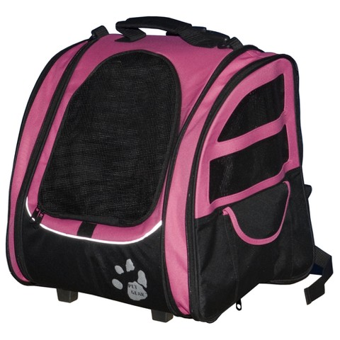 Pet Gear I-GO2 Traveler Pet Carrier with Adjustable Straps
