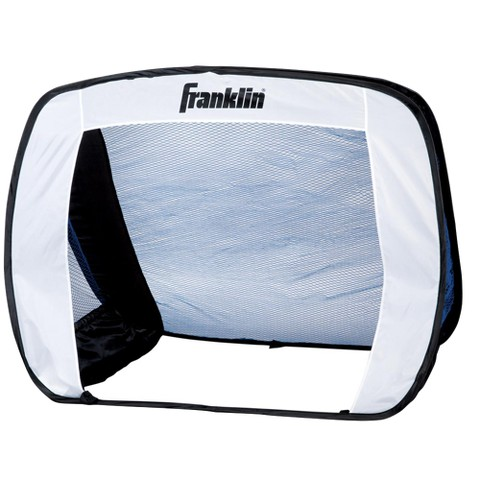 Franklin Pop-Up Junior Goal - Black/ White/ Blue
