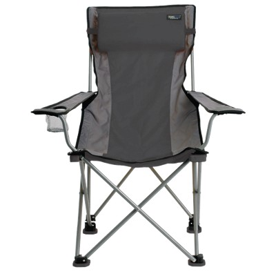 Travel Chair - Gray/ Black