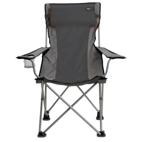 Travel Chair - Gray/ Black