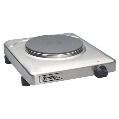 BroilKing Single Cast Iron Burner Range/Hot Plate - Silvertone