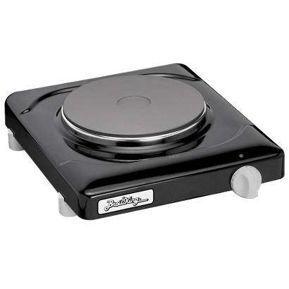 BroilKing Single Cast Iron Burner Range/Hot Plate - Black