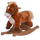 Rockin Rider Brown Pony Rocker - Animated & Talks