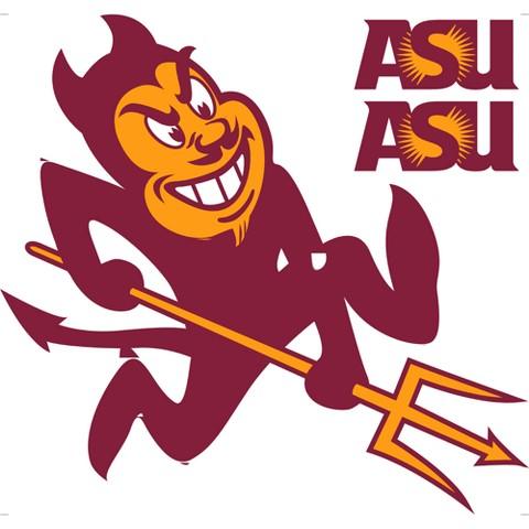Arizona State Sun Devils Removable Logo