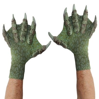 Webbed Sea Creature Gloves