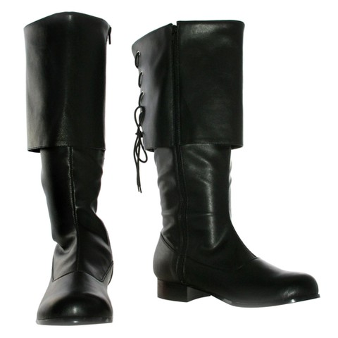 Sparrow Black Adult Costume Boots