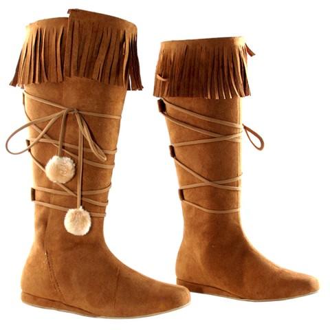 Dakota Tan Adult Costume Boots