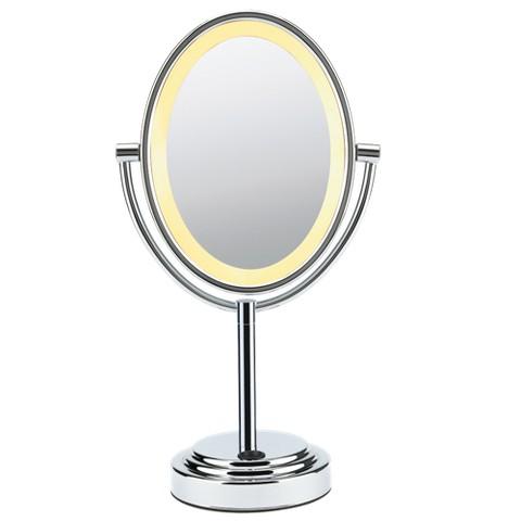 Conair Oval Mirror - Polished Chrome