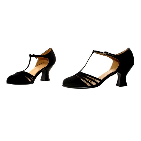 Lucille Black Adult Costume Shoes