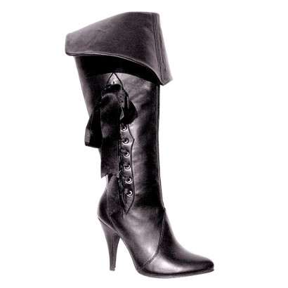 Adults' Pirate Costume Boots - Black
