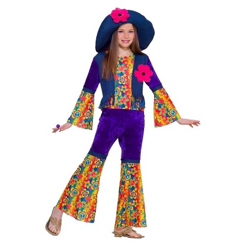 Flower Child Girls' Costume