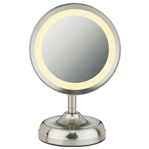 Conair Round Mirror - Satin Finish