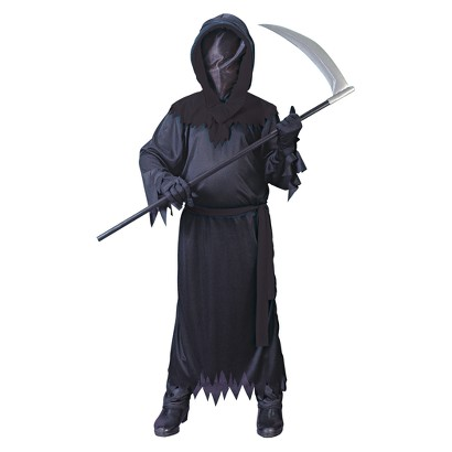 Boy's Black Phantom Deluxe Costume