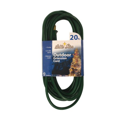 20' Outdoor Extension Cords