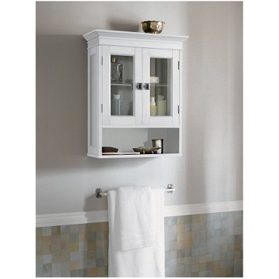 Fieldcrest Luxury Wall Cabinet - White