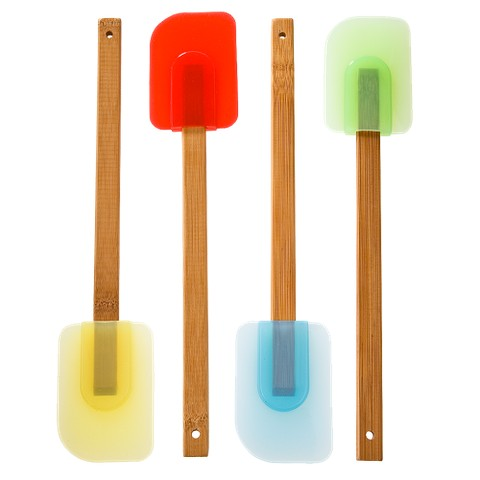 Good Cook Bamboo Spatulas 4-pk.