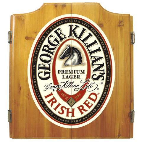 George Killian's Dartboard Cabinet