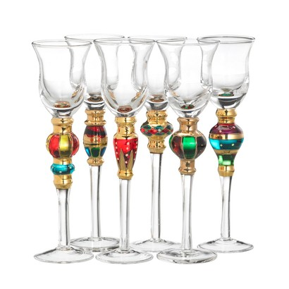 Threshold Splendor Cordial Glasses Set of 6