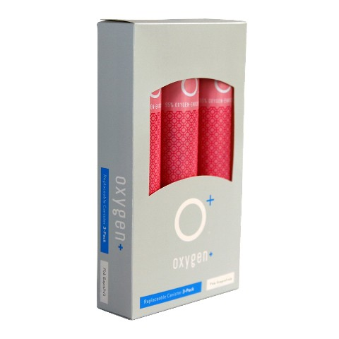 Oxygen Plus 3-pk. Refill Canisters - Pink Grapefruit