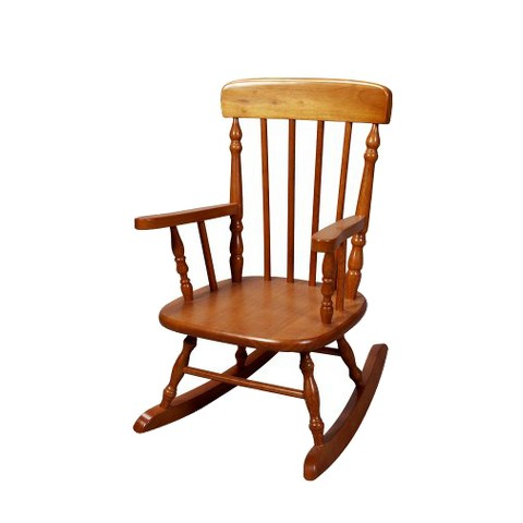 Kids' Spindle Rocking Chair - Honey