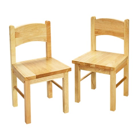 Natural Rectangular Chairs 2-ct.