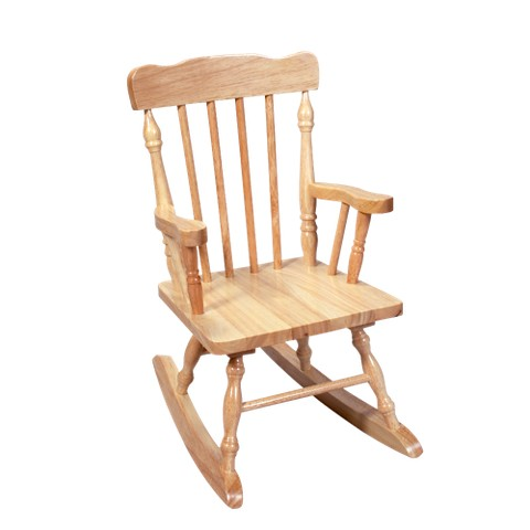 Kids Colonial Rocking Chair Natural Tar