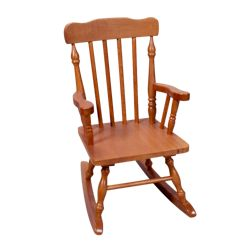 Product description page - Kids Colonial Rocking Chair - Cherry