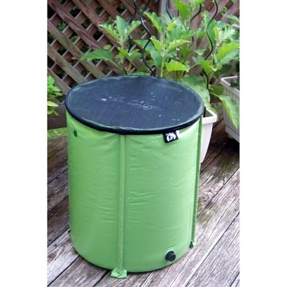 Pop-Up Rain Water Barrel