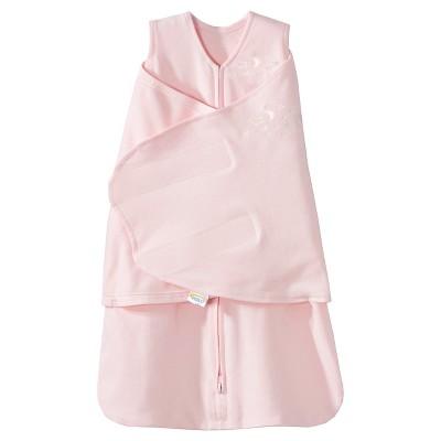 HALO SleepSack 100% Cotton Swaddle - Soft Pink - Newborn