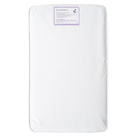 DaVinci Sleepwell Crescent Mini Crib Universal Fit Waterproof 50-Coil Mattress