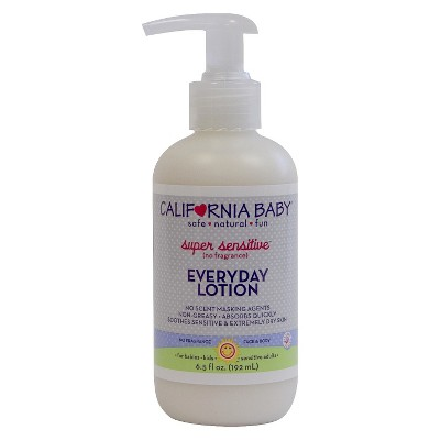 California Baby Super Sensitive Everyday Lotion - 6.5 oz.