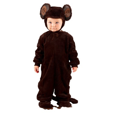 Toddler/Kid's Plush Monkey Costume