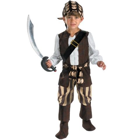Toddler Boy Rogue Pirate Costume