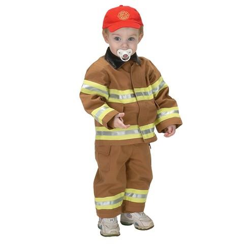 Infant Boy Jr. Fire Fighter Suit Costume 12-18 Months