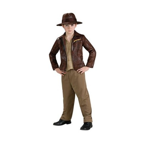 Boy's Indiana Jones Deluxe Costume