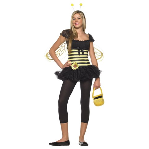 Teen Girl's Sunflower Bee Costume