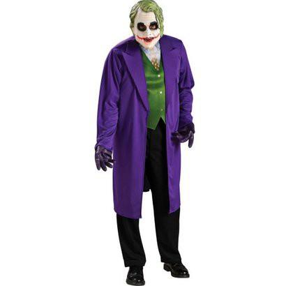 Men's Batman Dark Knight The Joker Costume - One Size Fits Most