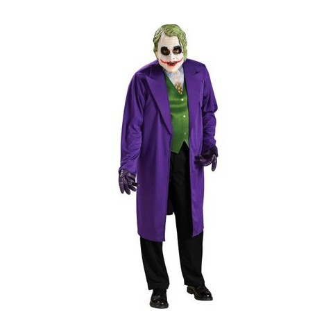Men's Batman Dark Knight The Joker Costume - One Size Fits Most