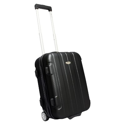 Traveler's Choice Rome 21  Carry On Luggage - Black