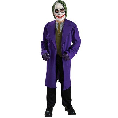 Boy's Batman The Dark Knight Joker Costume