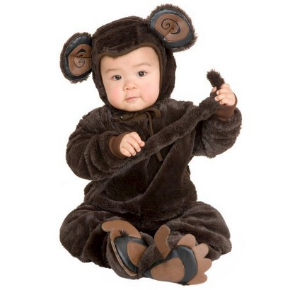 Newborn/Infant Plush Monkey Costume