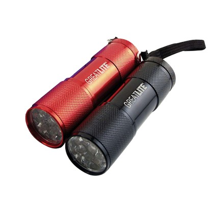 Great Neck 2 Pc. 9LED Flashlight Set